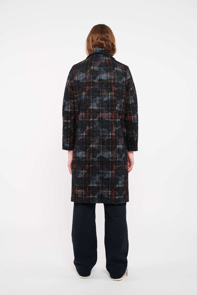 Stock Exchange Coat - Checkered