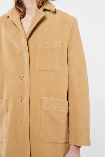Stock Exchange Coat - Camel