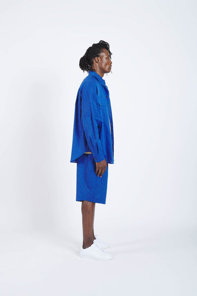 Drive Shaft Shirt Jacket - Blue