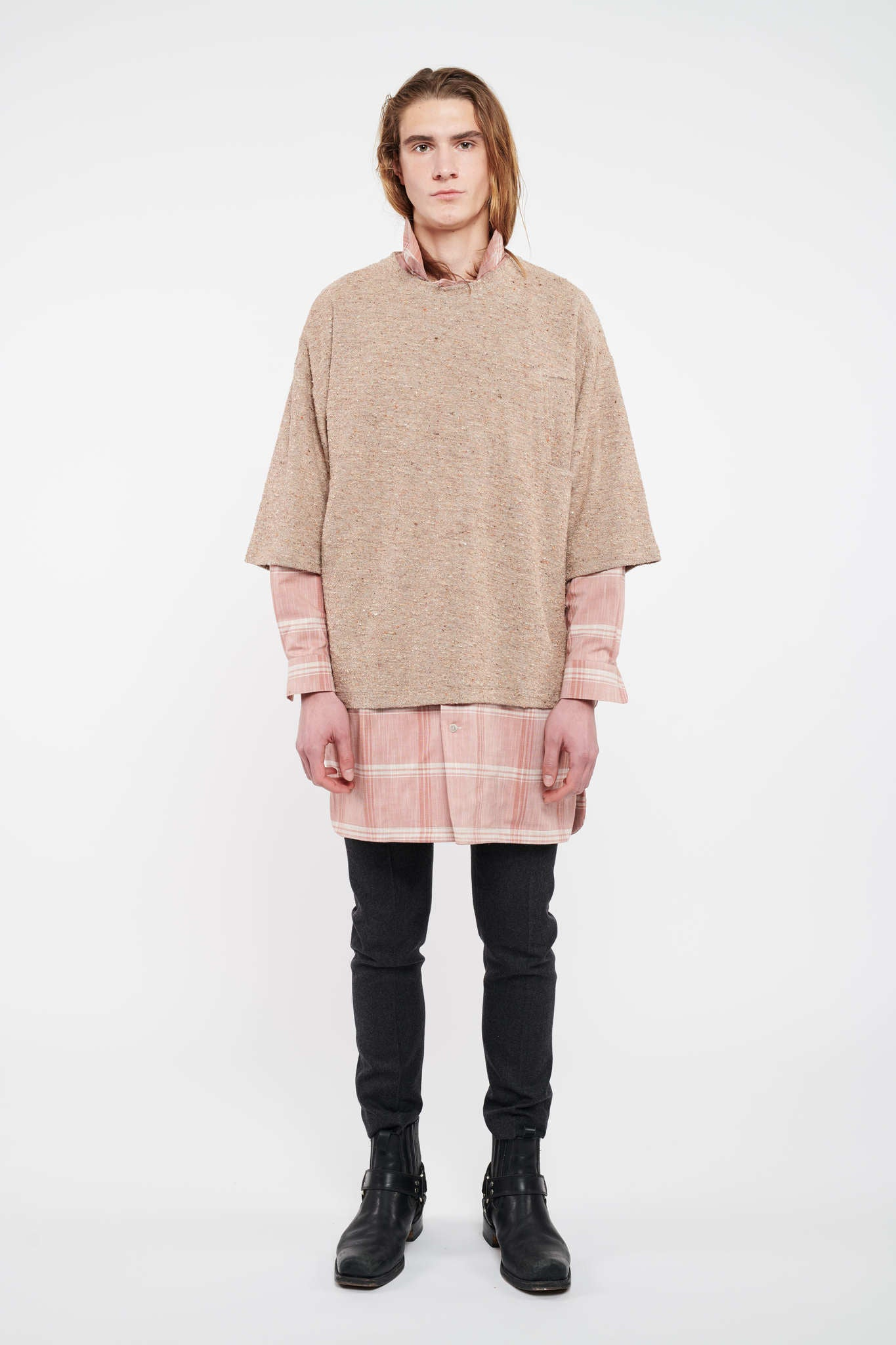 Income Short Sleeve Sweater