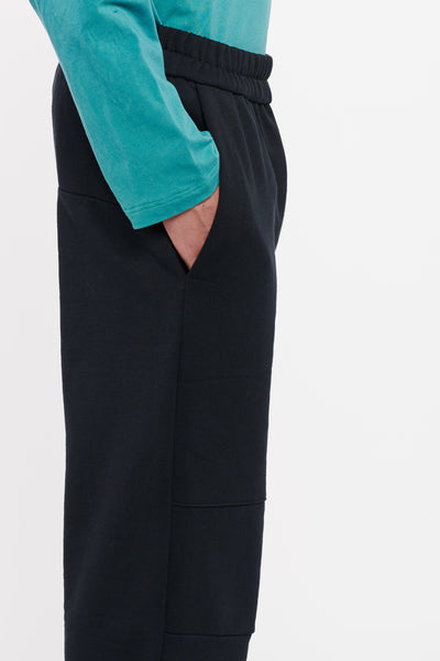 Industrial Straight Cut Pants - Black