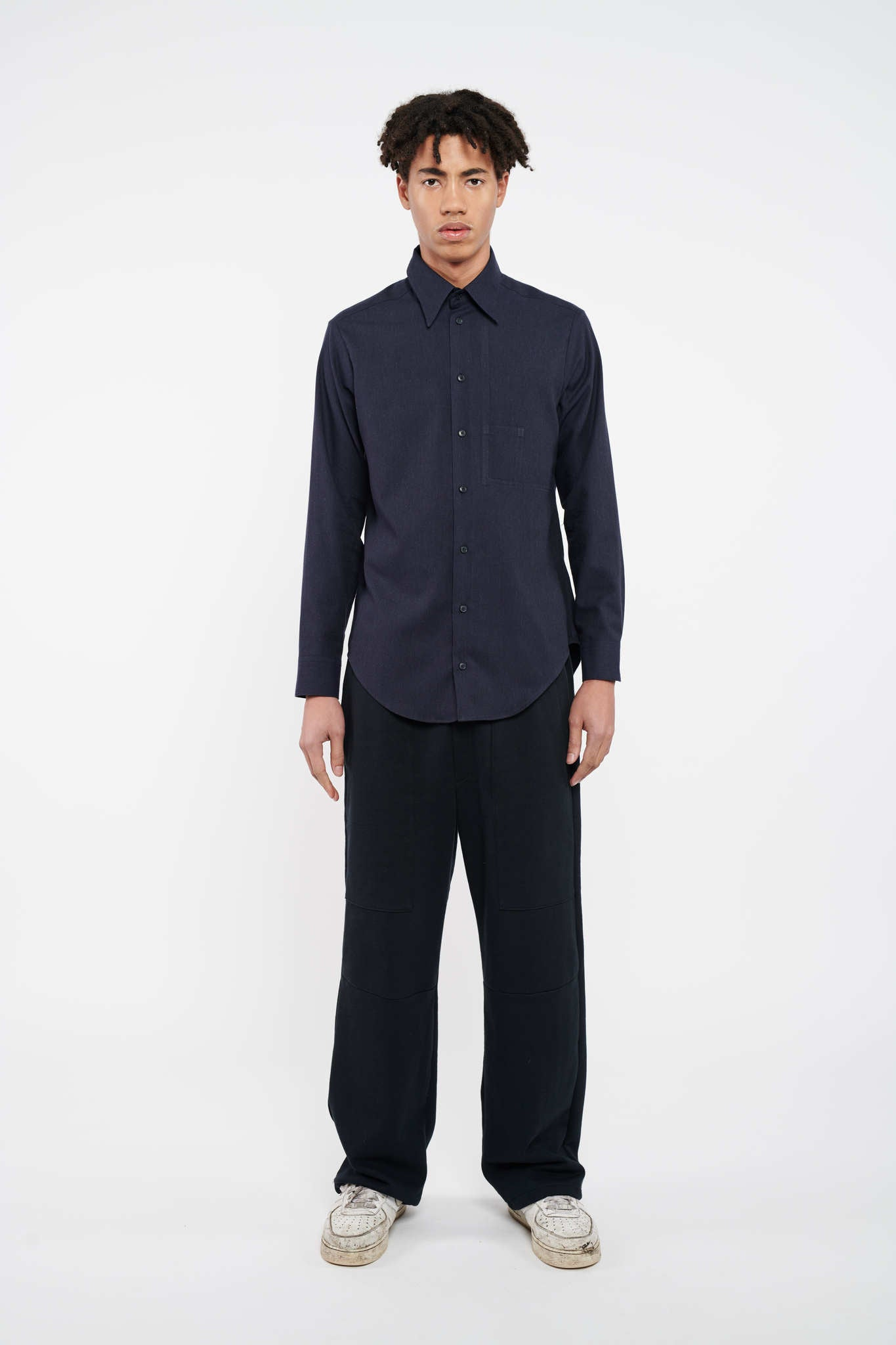Executive Classic Cut Shirt - Dark Blue