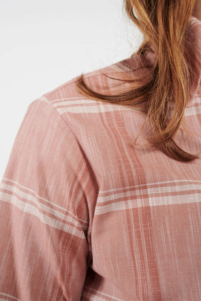 Executive Classic Cut Shirt - Brick Check