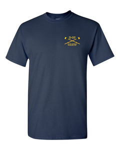Gildan® - Heavy Cotton™ 100% Cotton T-Shirt (Navy/Daisy)