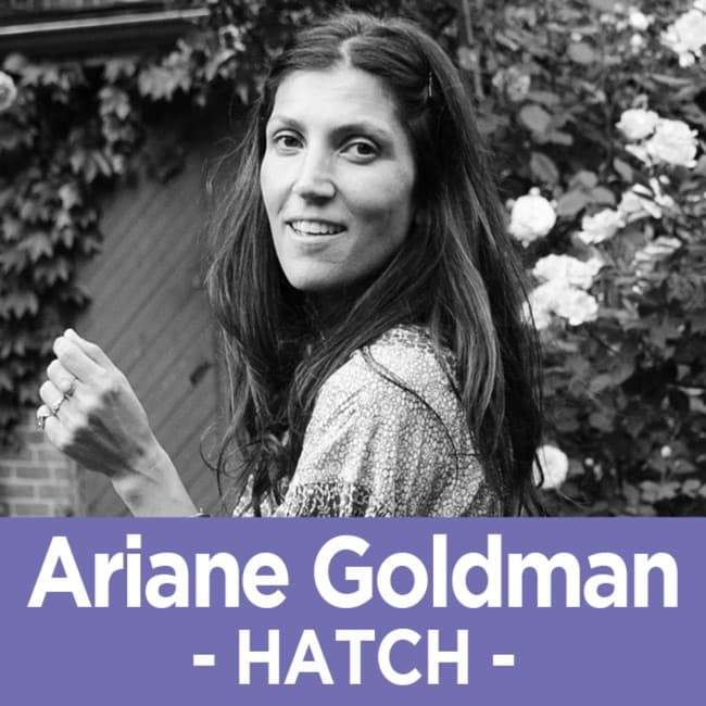 45 Ariane Goldman - The Founder of HATCH on Growing a Company and a Family
