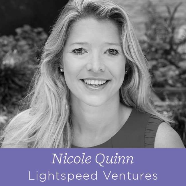 71 Nicole Quinn - Partner at Lightspeed Ventures on Helping Companies Grow