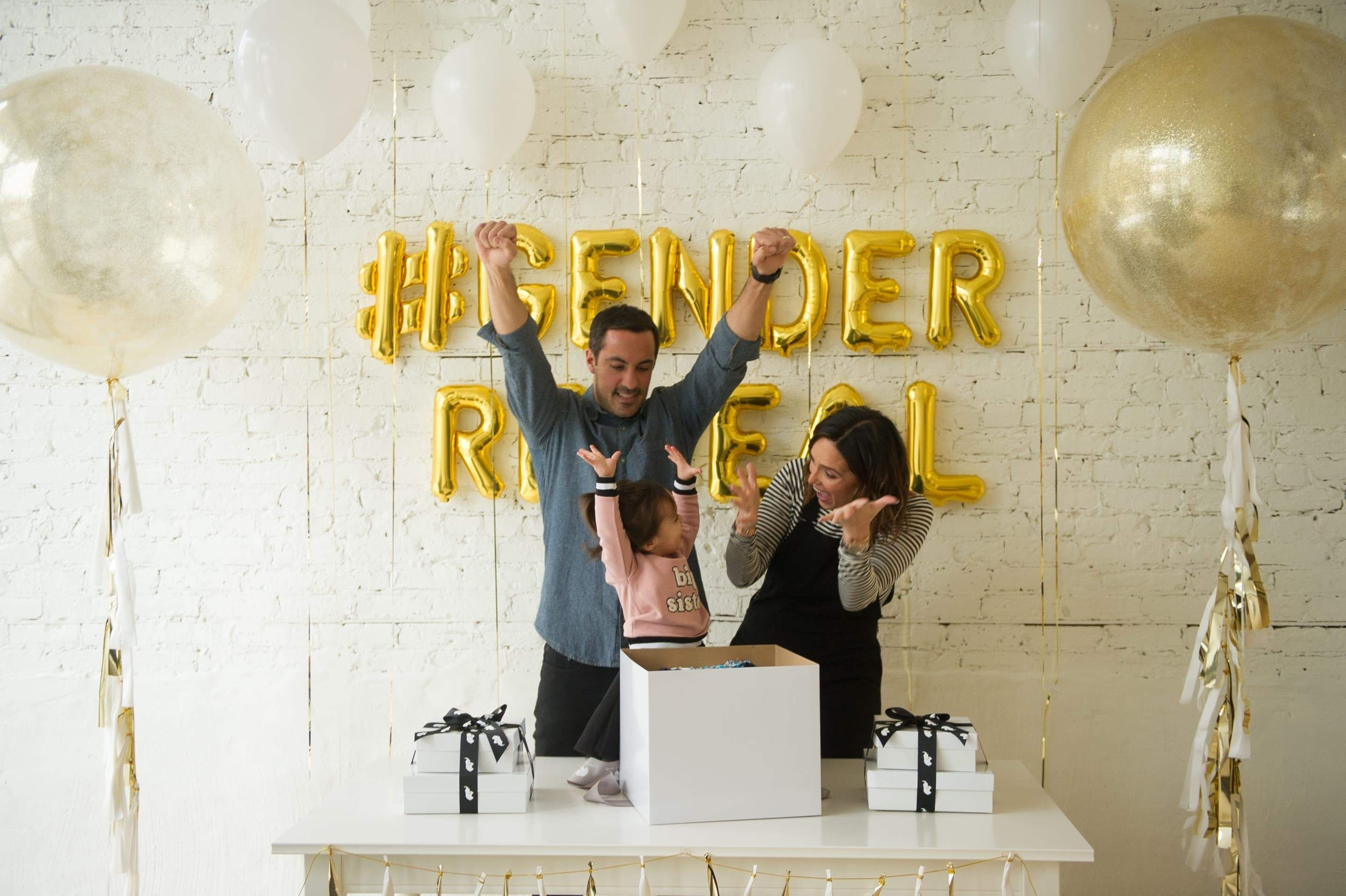 Everything You Need to Know About Planning a Creative Gender Reveal With Monica + Andy
