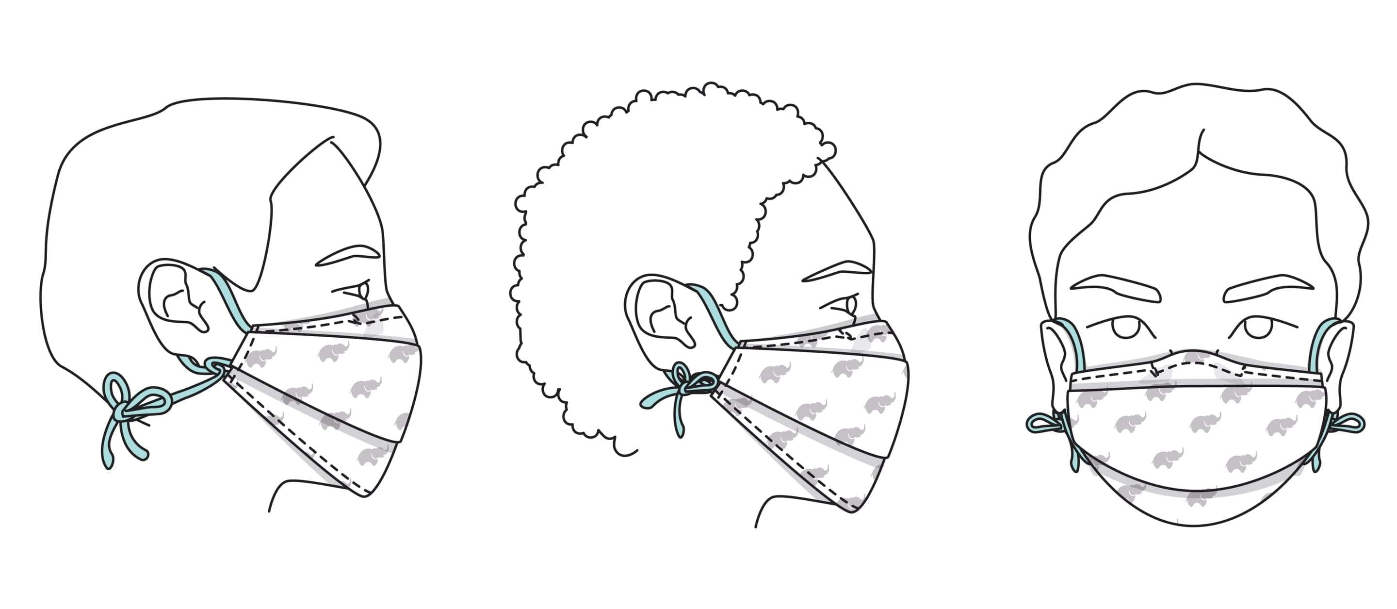How to Sew a Face Mask For Kids