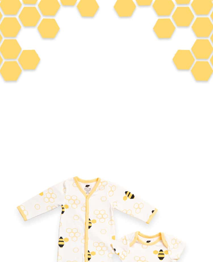 bumble bee print header graphic