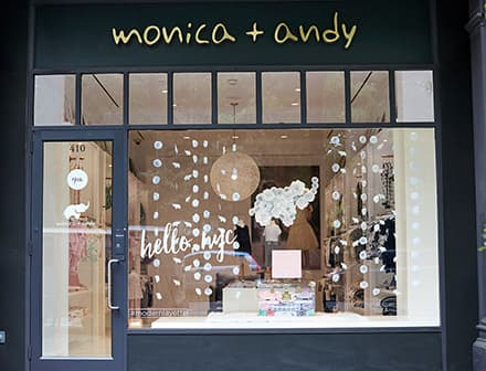 Front of Monica + Andy New York City Guideshop