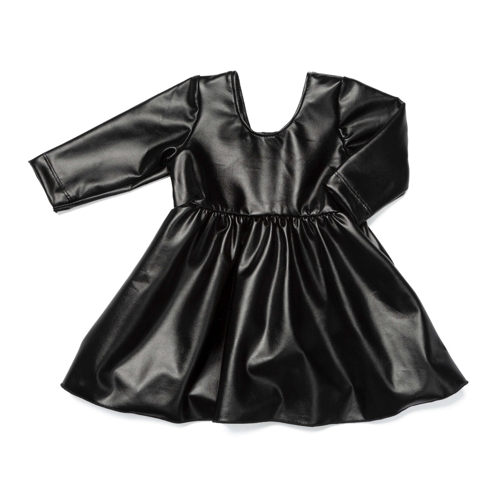 Vegan Leather Let's Dance Dress