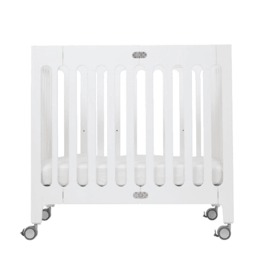 bloom alma mini white crib bundle