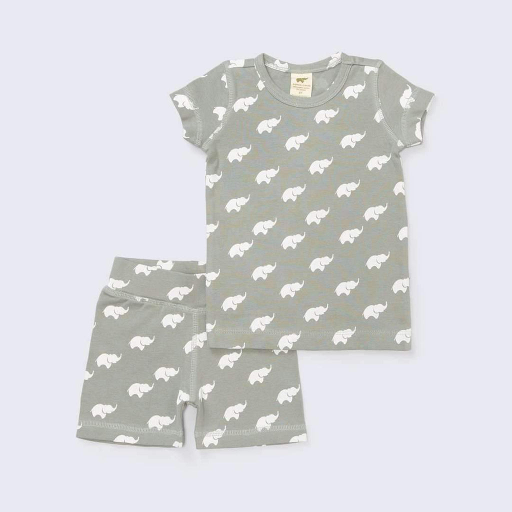 Two-Piece Shortie Pajamas