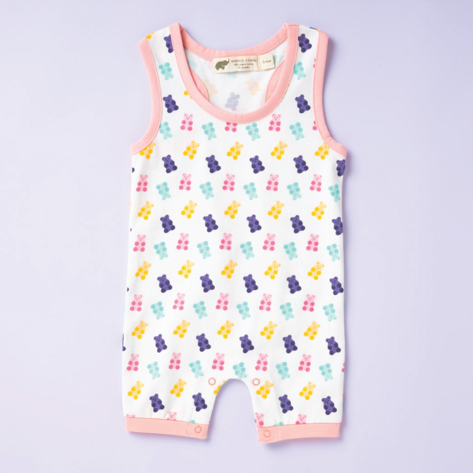 romper with unbearably cute print