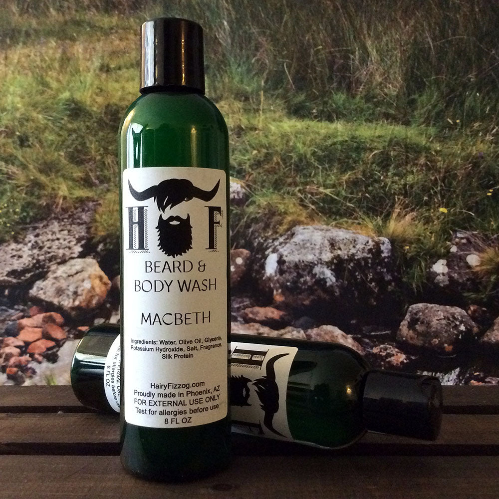 Macbeth Beard and Body Wash