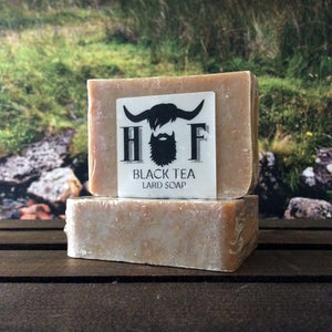Black Tea Lard Soap