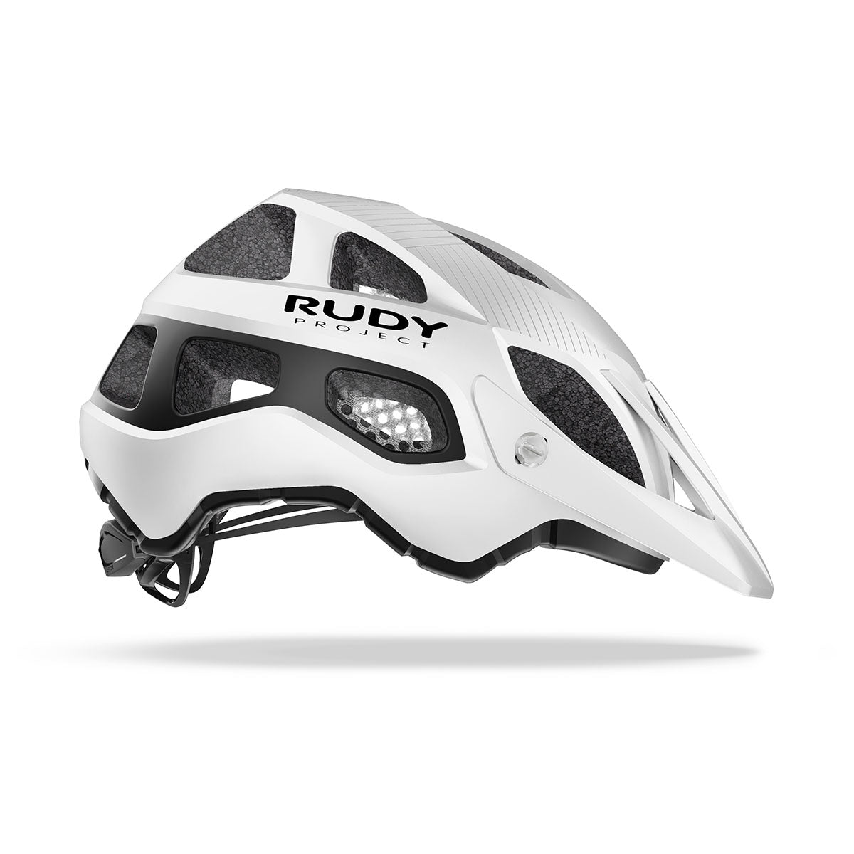 Rudy Project - Protera - color: White Black matte - photo angle: Side Variant Hover Image