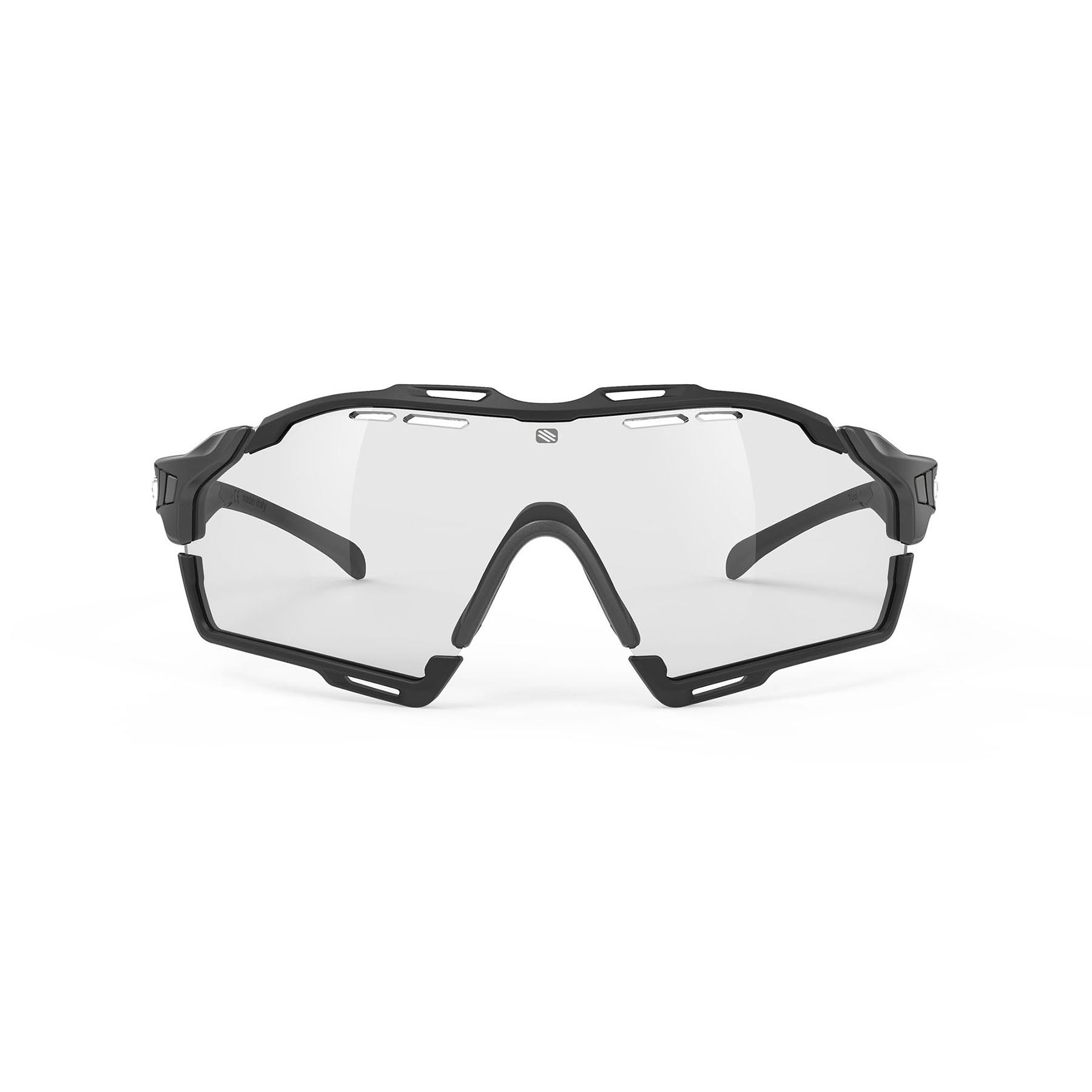 Rudy Project - Cutline - frame color: Graphine Matte - lens color: ImpactX-2 Photochromic Clear to Black - Bumper Color: Black - photo angle: Front View Variant Hover Image