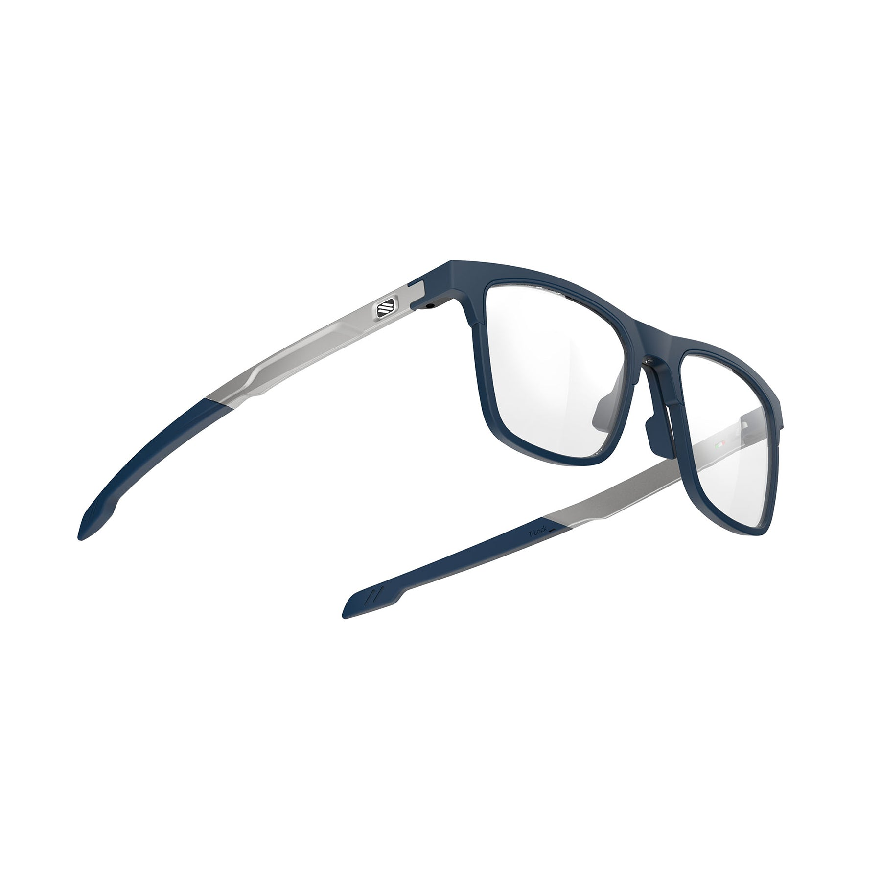 Rudy Project - Inkas XL - frame color: Blue Navy - lens color: Full Rim - photo angle: Bottom Front Angle Variant Hover Image