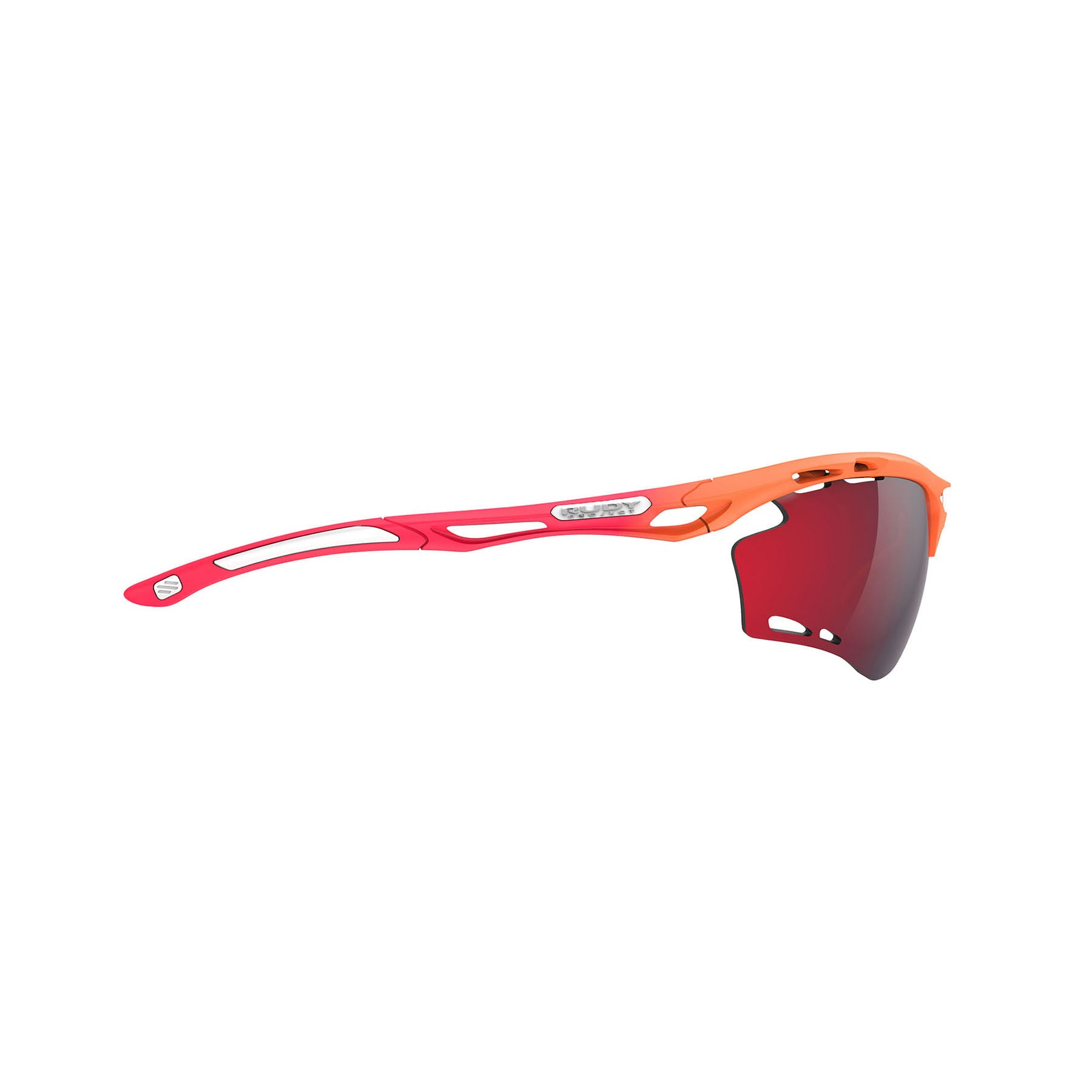Rudy Project - Propulse - frame color: Pacific Blue Matte - lens color: ImpactX-2 Photochromic Clear to Red - Bumper Color:  - photo angle: Side Variant Hover Image