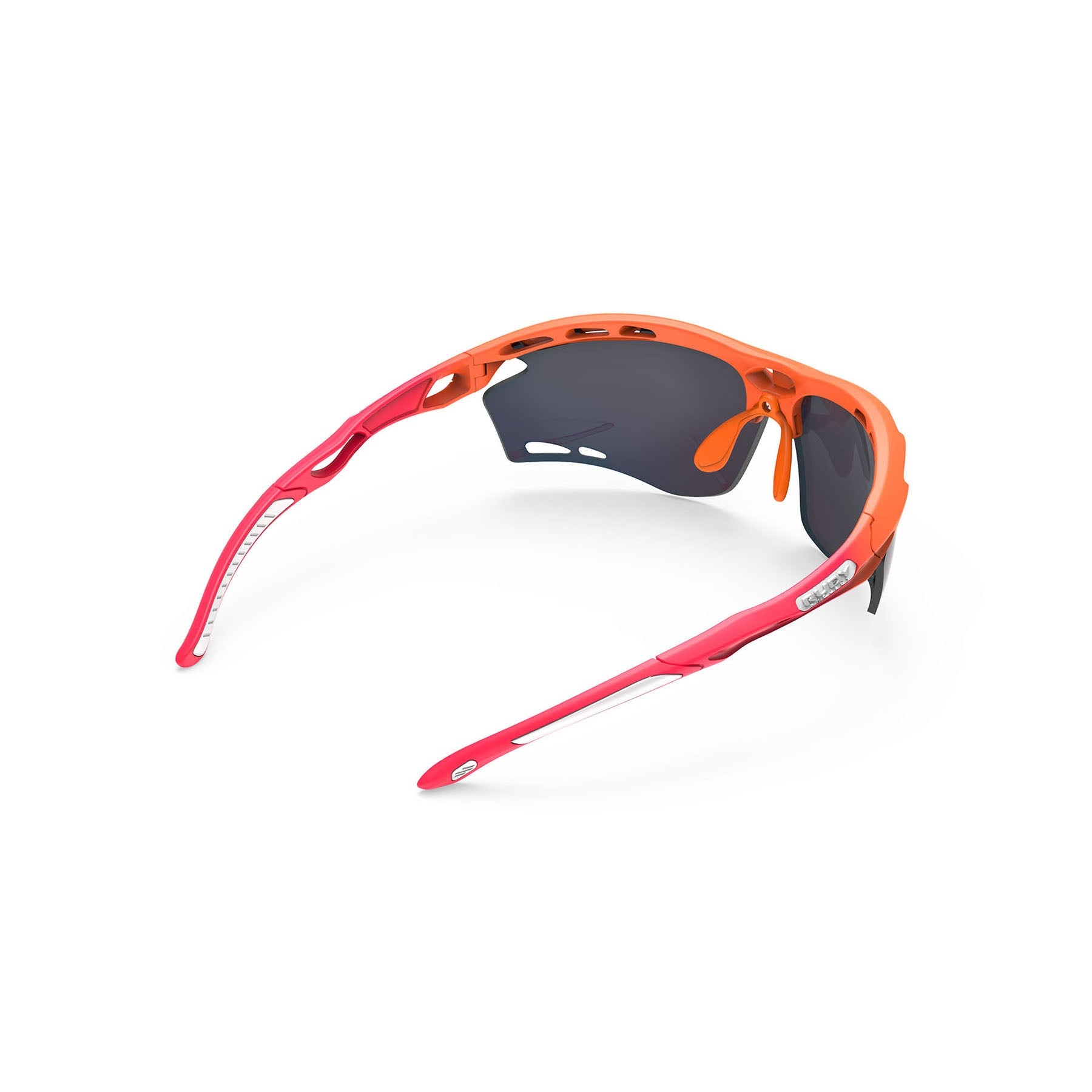 Rudy Project - Propulse - frame color: Pacific Blue Matte - lens color: ImpactX-2 Photochromic Clear to Red - Bumper Color:  - photo angle: Top Back Angle Variant Hover Image