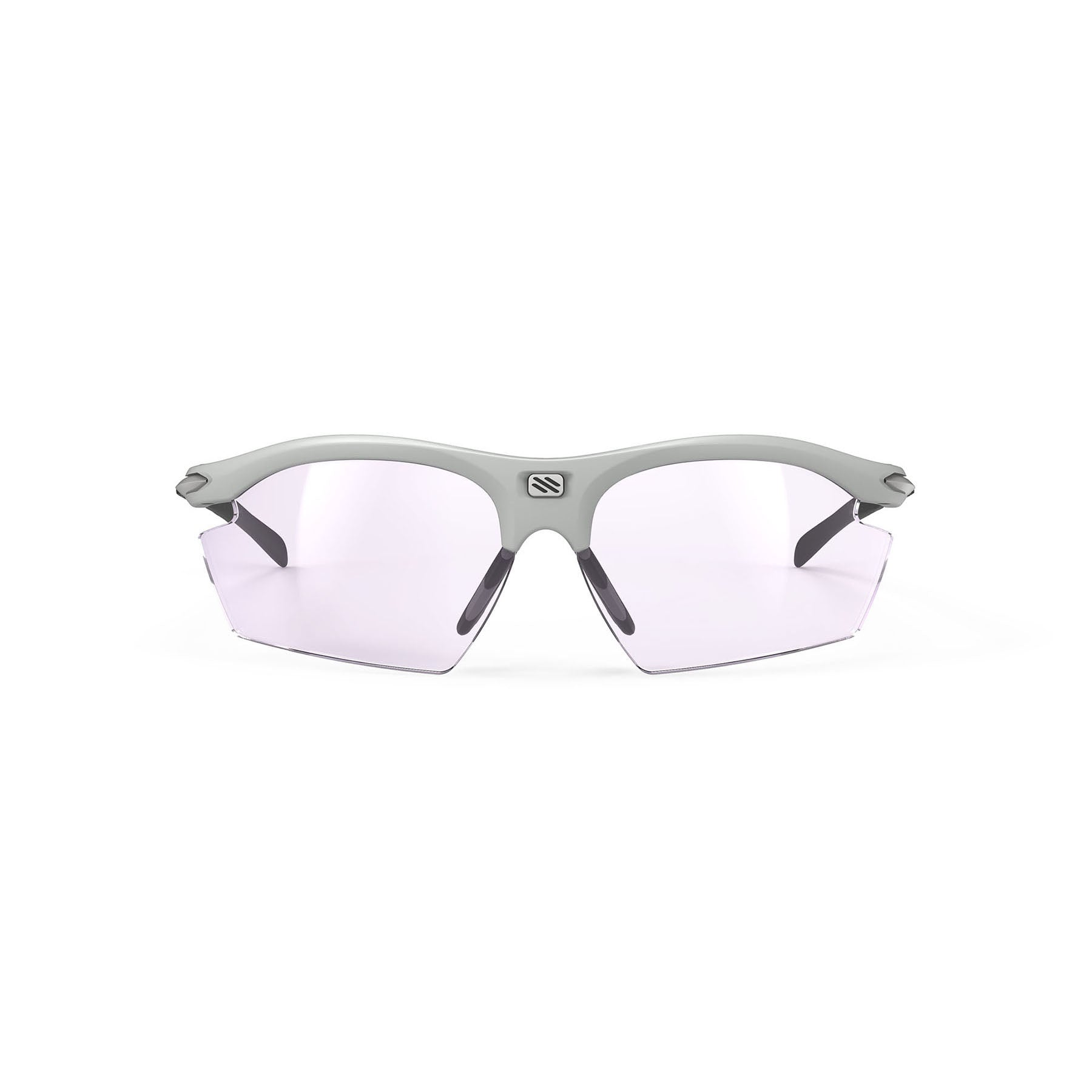 Rudy Project - Rydon Running - frame color: Light Grey - lens color: ImpactX-2 Photochromic Clear to Laser Purple - photo angle: Front View Variant Hover Image