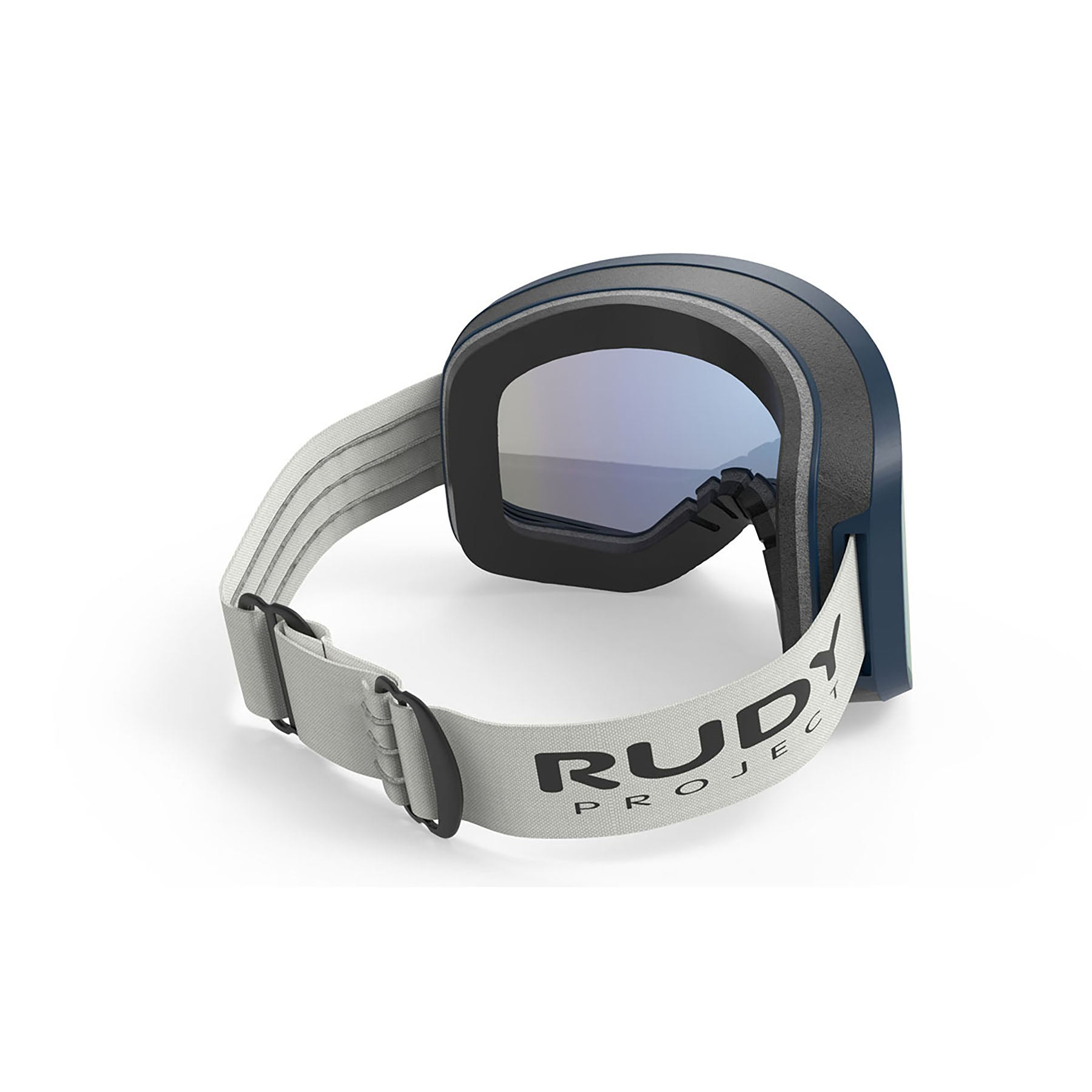 Rudy Project - Skermo - frame color: Deep Blue Matte - lens color: Multilaser Blue