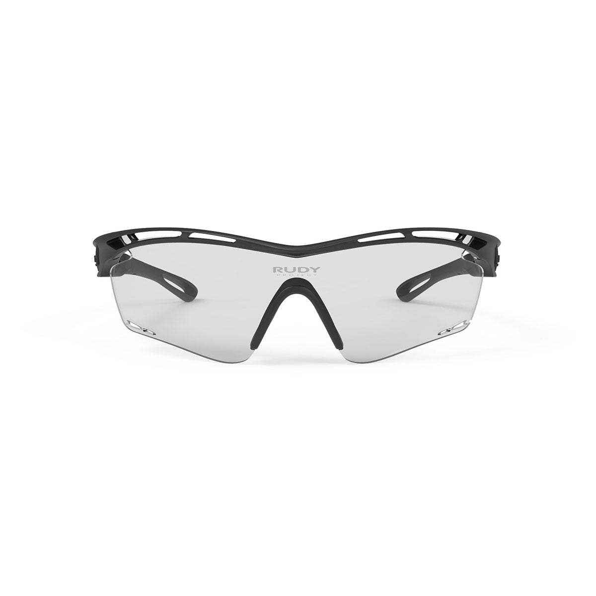Rudy Project - Tralyx - frame color: Matte Black - lens color: ImpactX-2 Photochromic Clear to Black - photo angle: Front View Variant Hover Image