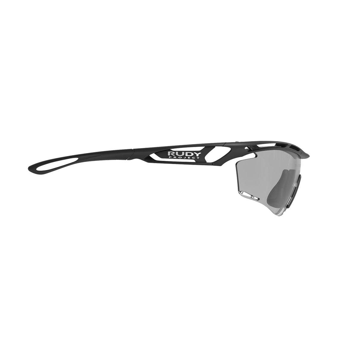 Rudy Project - Tralyx - frame color: Matte Black - lens color: ImpactX-2 Photochromic Clear to Black - photo angle: Side Variant Hover Image