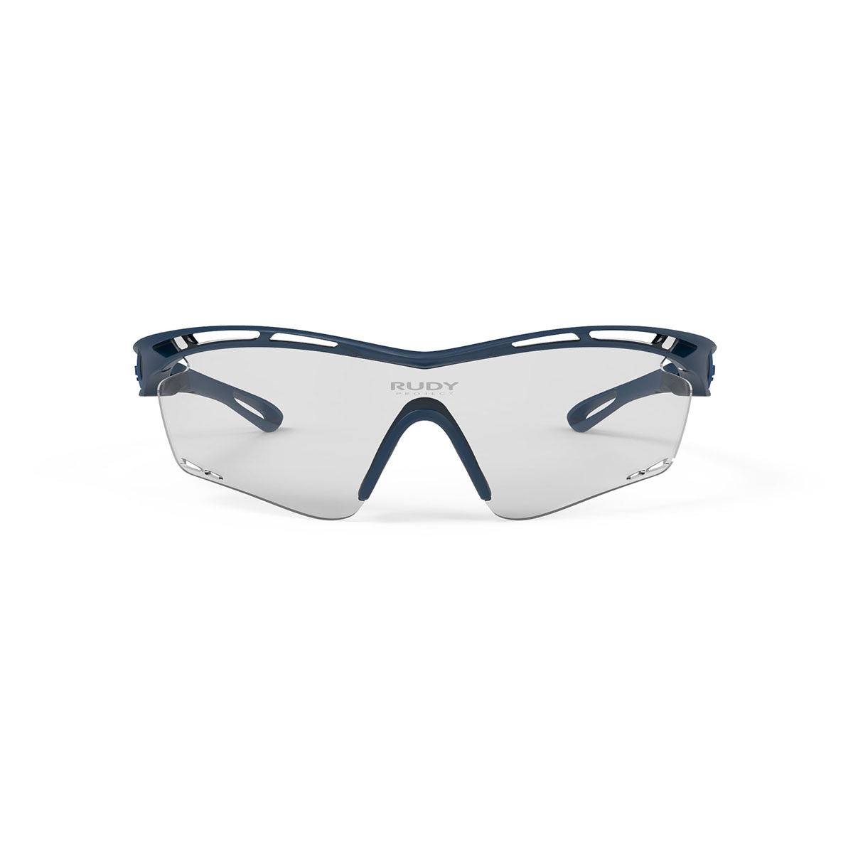 Rudy Project - Tralyx - frame color: Blue Navy Matte - lens color: ImpactX-2 Photochromic Clear to Black - photo angle: Front View Variant Hover Image