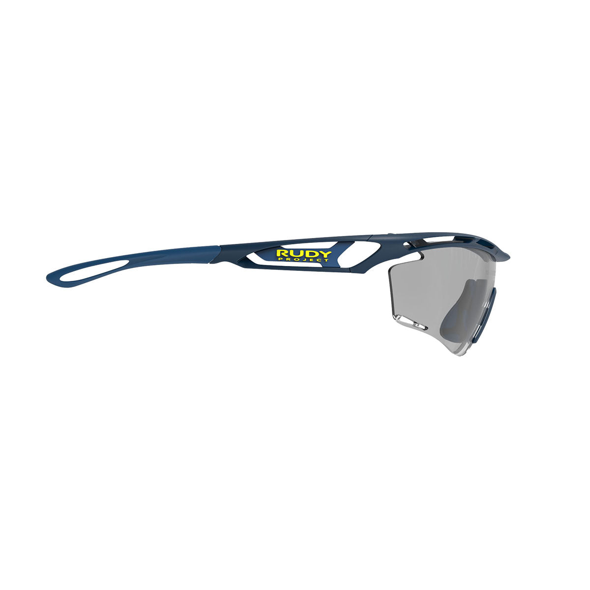 Rudy Project - Tralyx - frame color: Blue Navy Matte - lens color: ImpactX-2 Photochromic Clear to Black - photo angle: Side Variant Hover Image