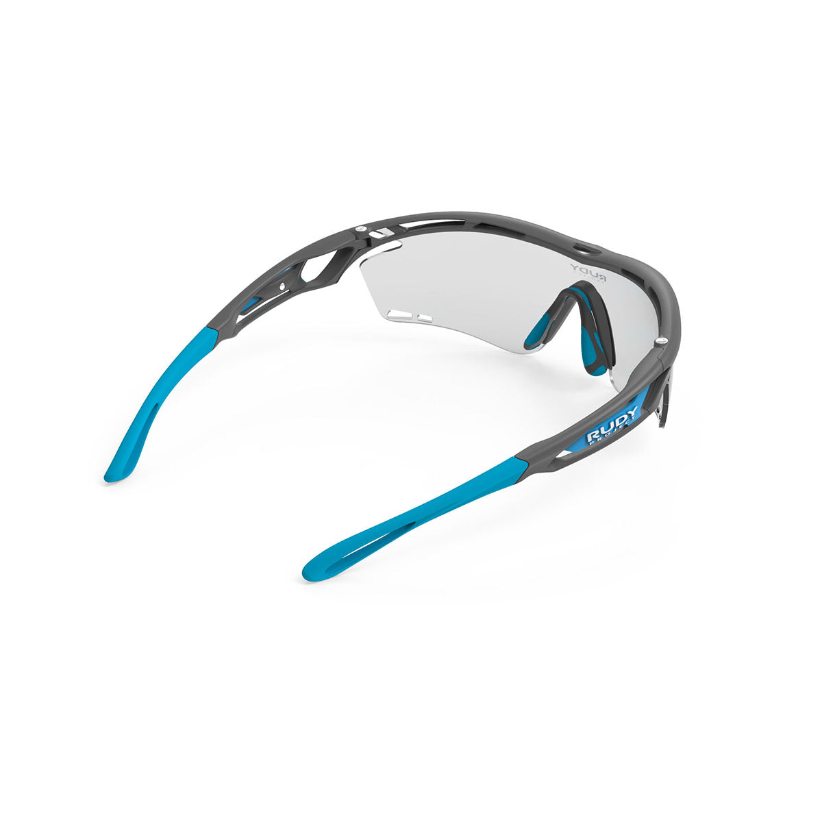 Rudy Project - Tralyx - frame color: Pyombo Matte - lens color: ImpactX-2 Photochromic Clear to Black - photo angle: Top Back Angle Variant Hover Image