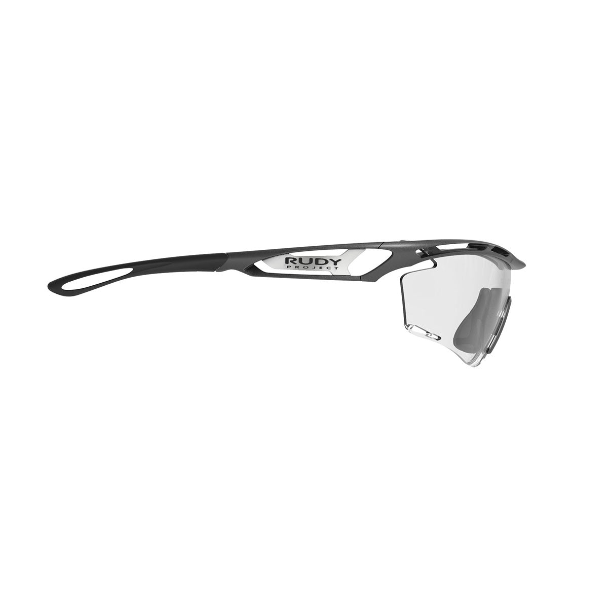 Rudy Project - Tralyx Graphene - frame color: Graphene - lens color: Photochromic clear to black - photo angle: Side Variant Hover Image