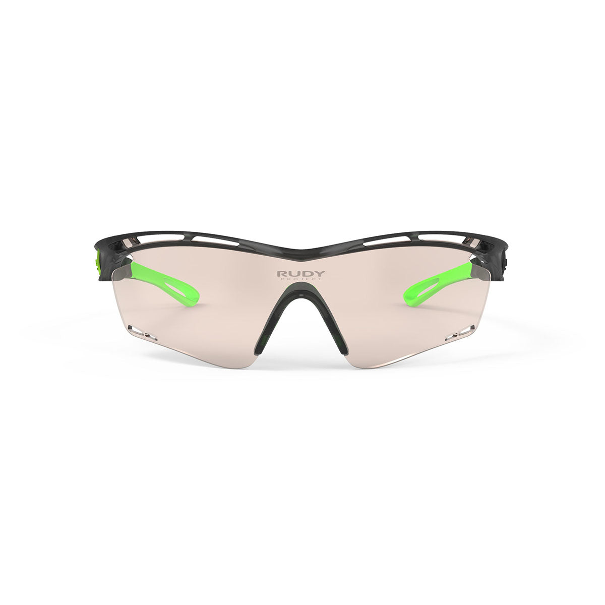 Rudy Project - Tralyx - frame color: Ice Graphite - lens color: ImpactX-2 Photochromic Clear to Laser Brown - photo angle: Front View Variant Hover Image