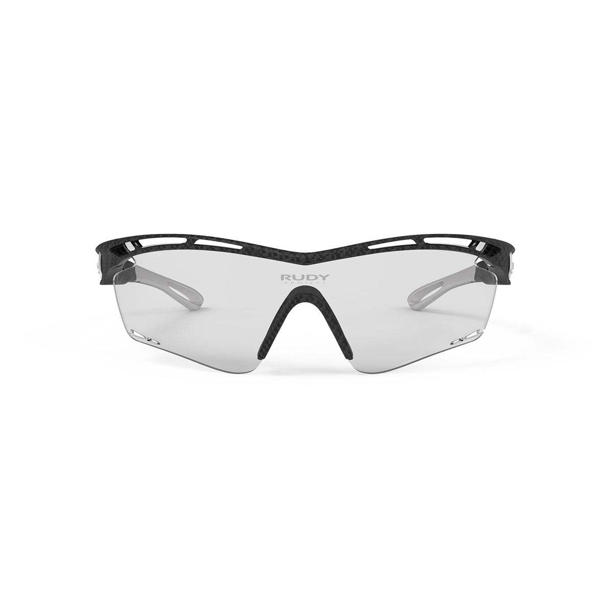 Rudy Project - Tralyx - frame color: Carbonium - lens color: ImpactX-2 Photochromic Clear to Laser Black - photo angle: Front View Variant Hover Image