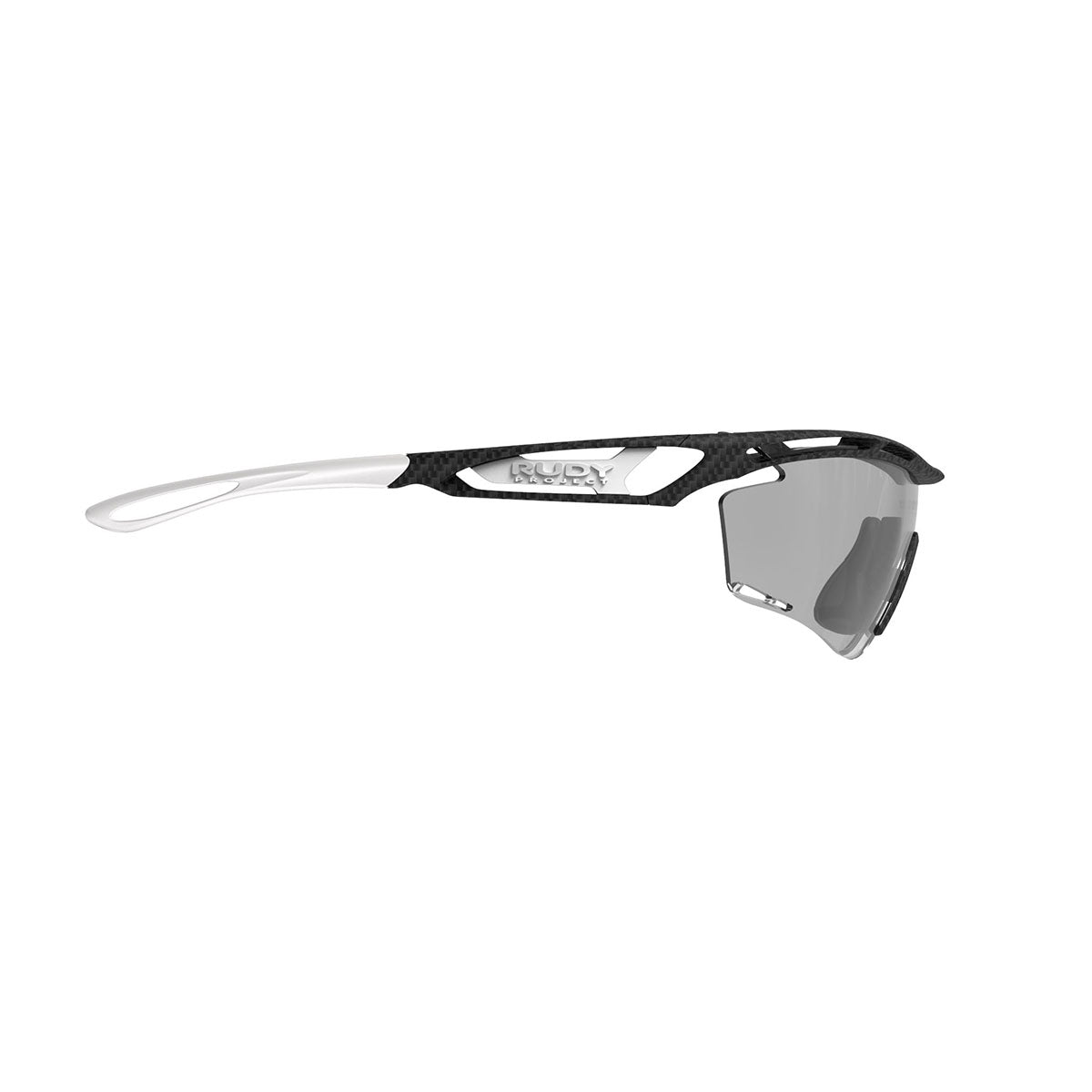 Rudy Project - Tralyx - frame color: Carbonium - lens color: ImpactX-2 Photochromic Clear to Laser Black - photo angle: Side Variant Hover Image