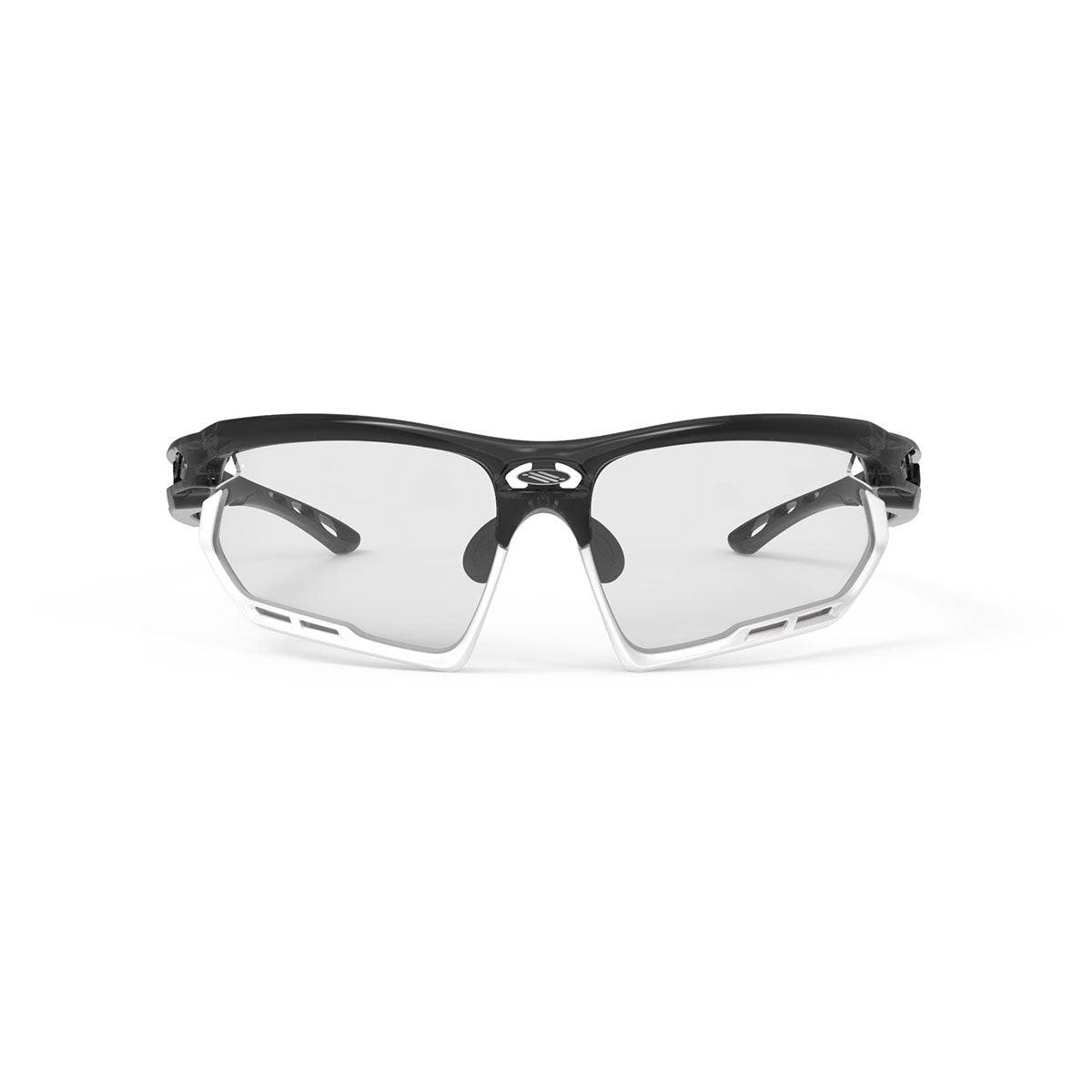 Rudy Project - Fotonyk - frame color: Crystal Graphite - lens color: ImpactX-2 Photochromic Clear to Black - Bumper Color: White - photo angle: Front View Variant Hover Image