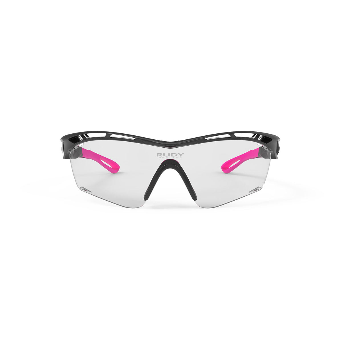 Rudy Project - Tralyx Golf - frame color: Matte Black - lens color: ImpactX-2 Photochromic Laser Purple - photo angle: Front View Variant Hover Image