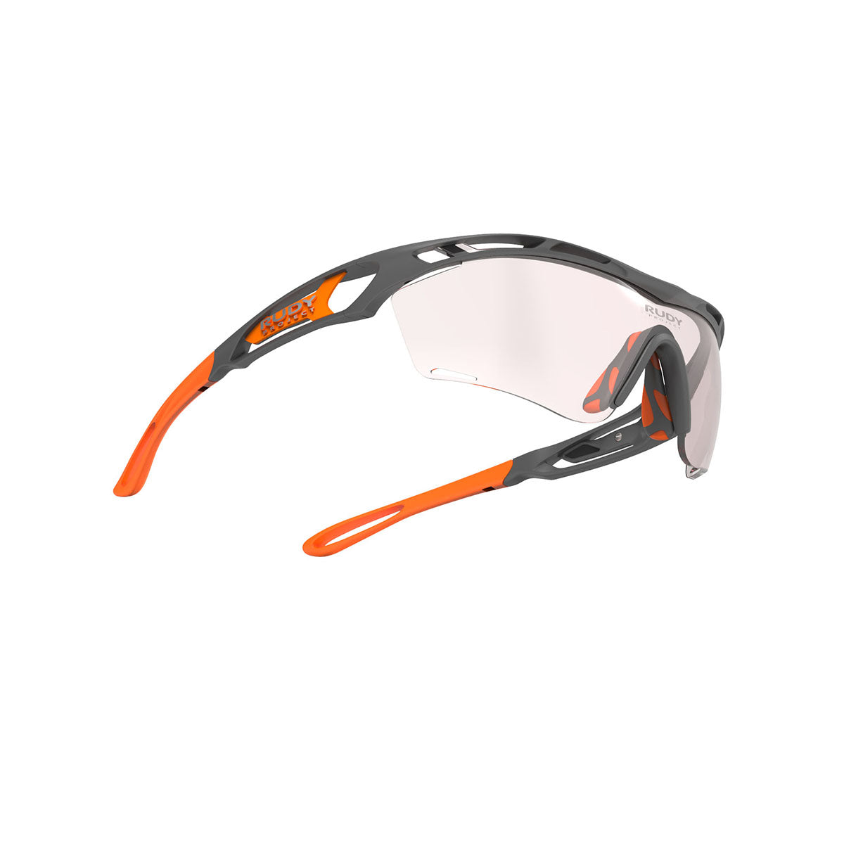 Rudy Project - Tralyx Golf - frame color: Pyombo Matte - lens color: IMPACTX-2 PHOTOCHROMIC PHOTOCHROMIC CLEAR TO RED LENSES - photo angle: Bottom Front Angle Variant Hover Image
