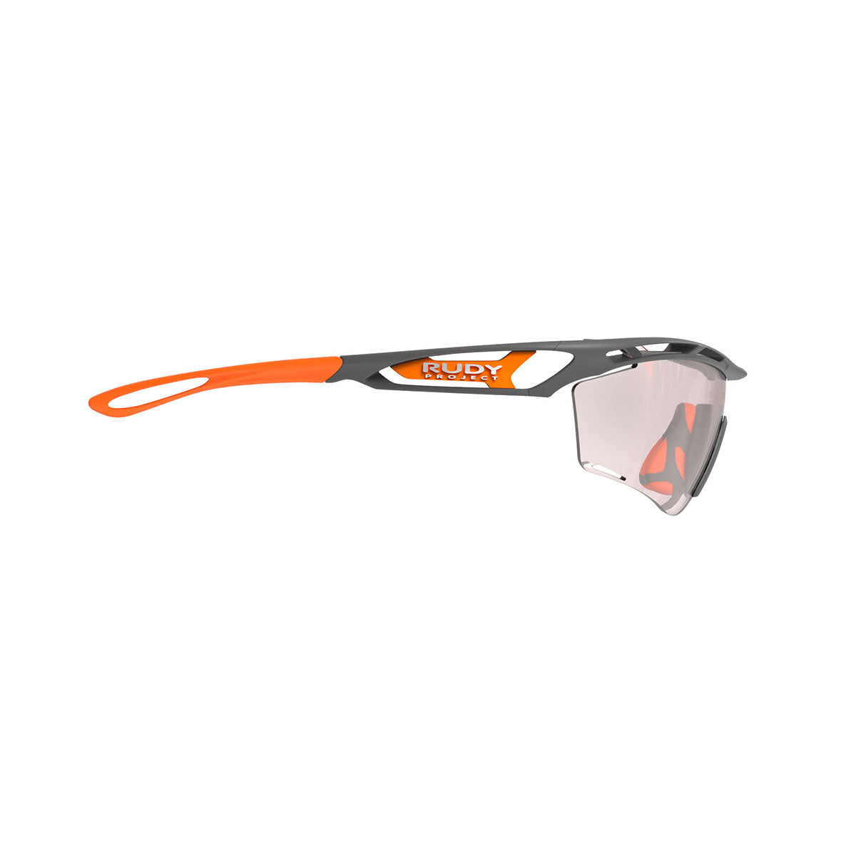 Rudy Project - Tralyx Golf - frame color: Pyombo Matte - lens color: IMPACTX-2 PHOTOCHROMIC PHOTOCHROMIC CLEAR TO RED LENSES - photo angle: Side Variant Hover Image