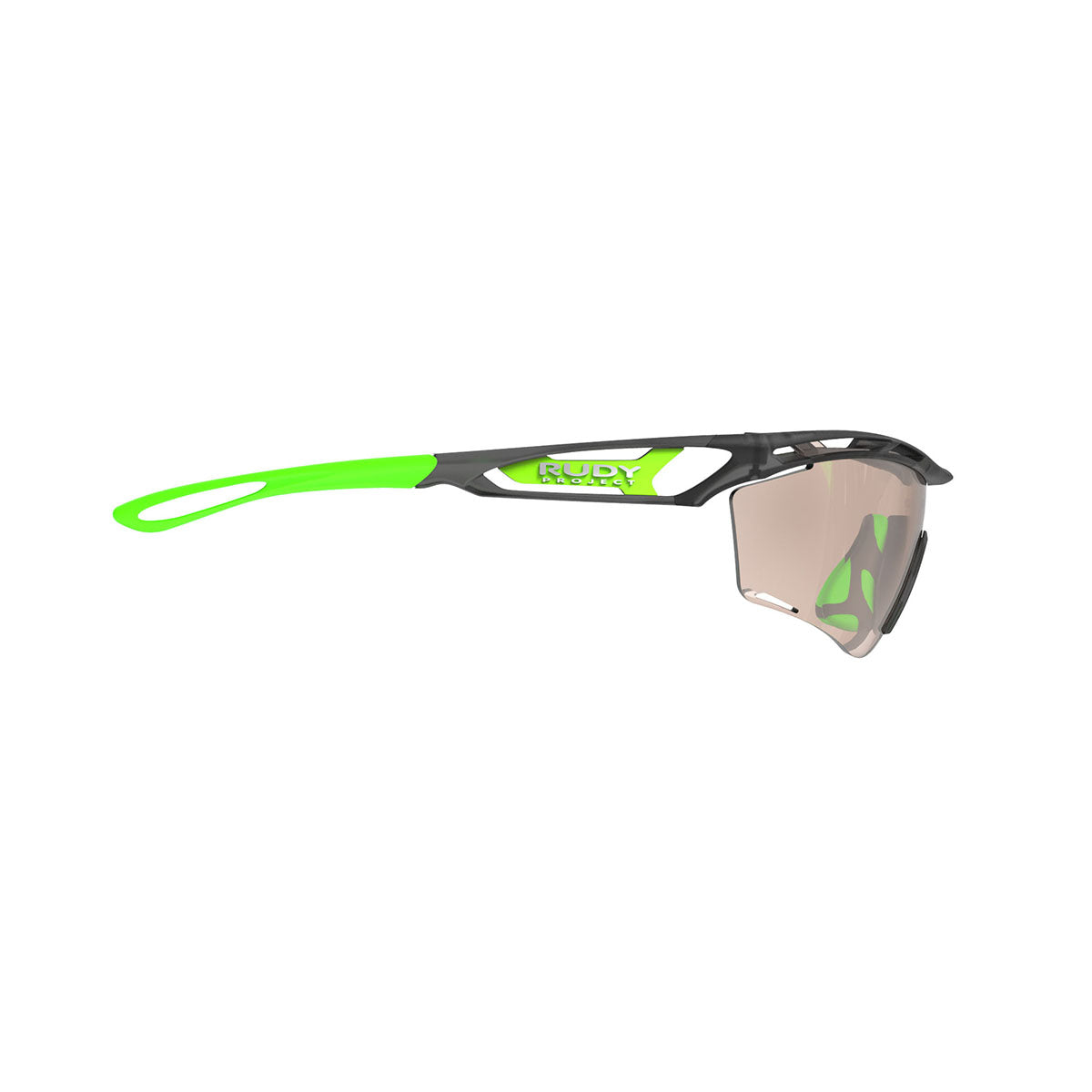 Rudy Project - Tralyx Golf - frame color: Matte Black - lens color: ImpactX-2 Photochromic Laser Purple - photo angle: Side Variant Hover Image