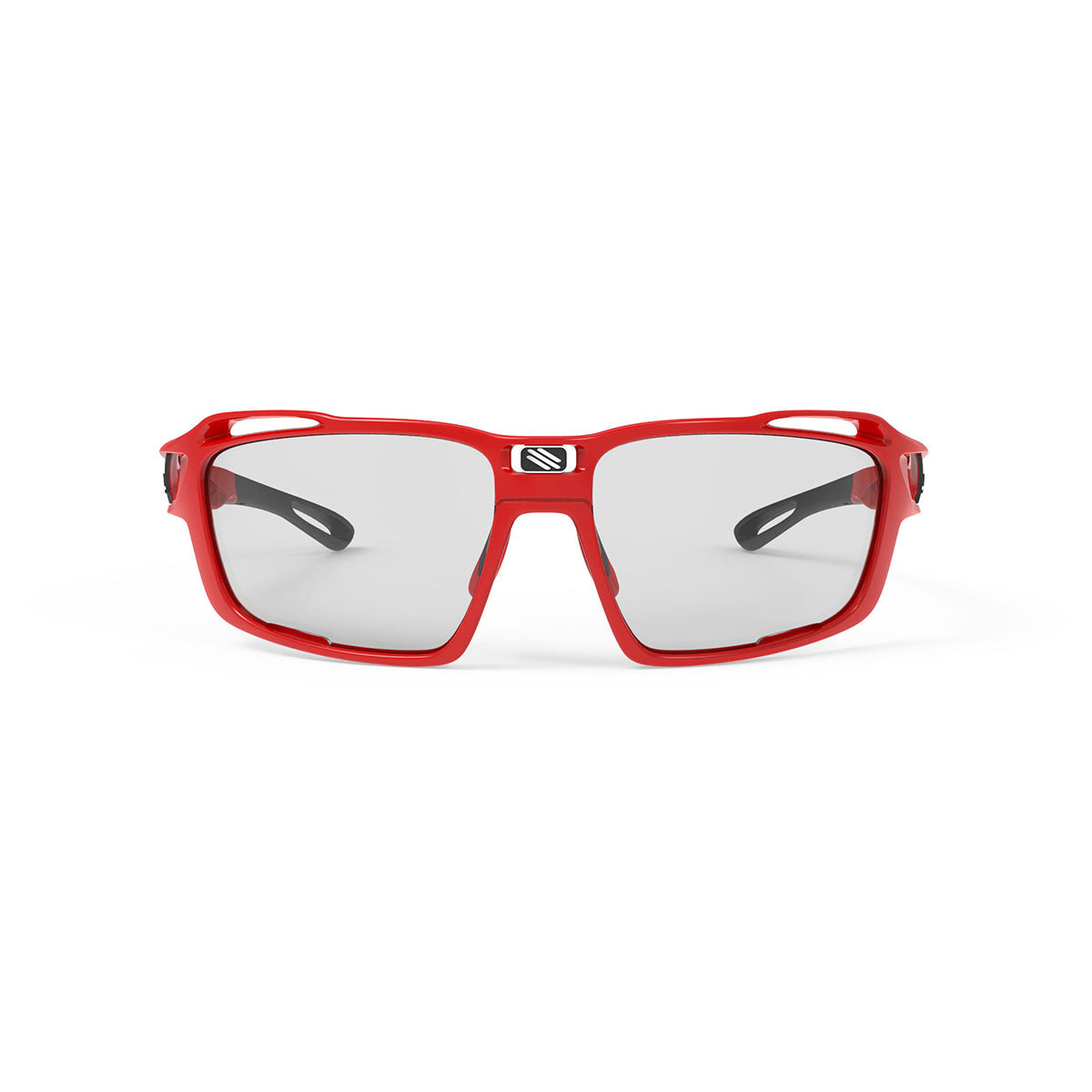 Rudy Project - Sintryx - frame color: Fire Red Gloss - lens color: ImpactX-2 Photochromic Clear to Black - Bumper Color:  - photo angle: Front View Variant Hover Image