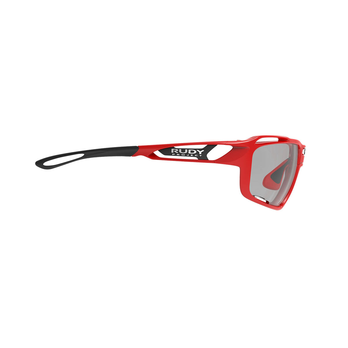 Rudy Project - Sintryx - frame color: Fire Red Gloss - lens color: ImpactX-2 Photochromic Clear to Black - Bumper Color:  - photo angle: Side Variant Hover Image