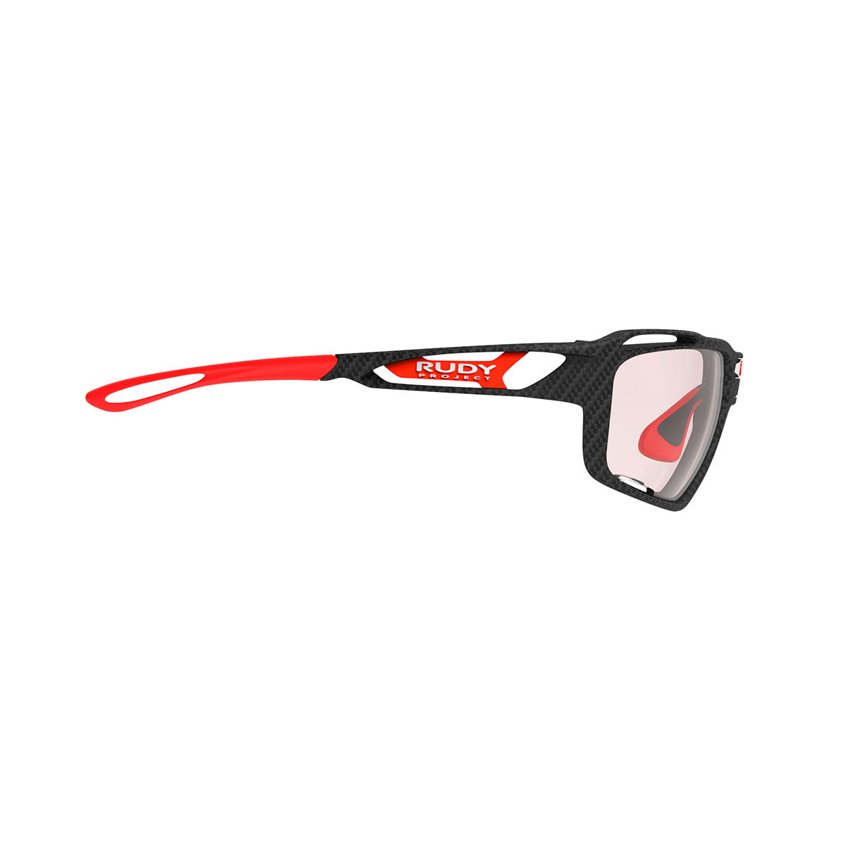 Rudy Project - Sintryx - frame color: Carbonium - lens color: ImpactX-2 Photochromic Clear to Red - Bumper Color:  - photo angle: Side Variant Hover Image