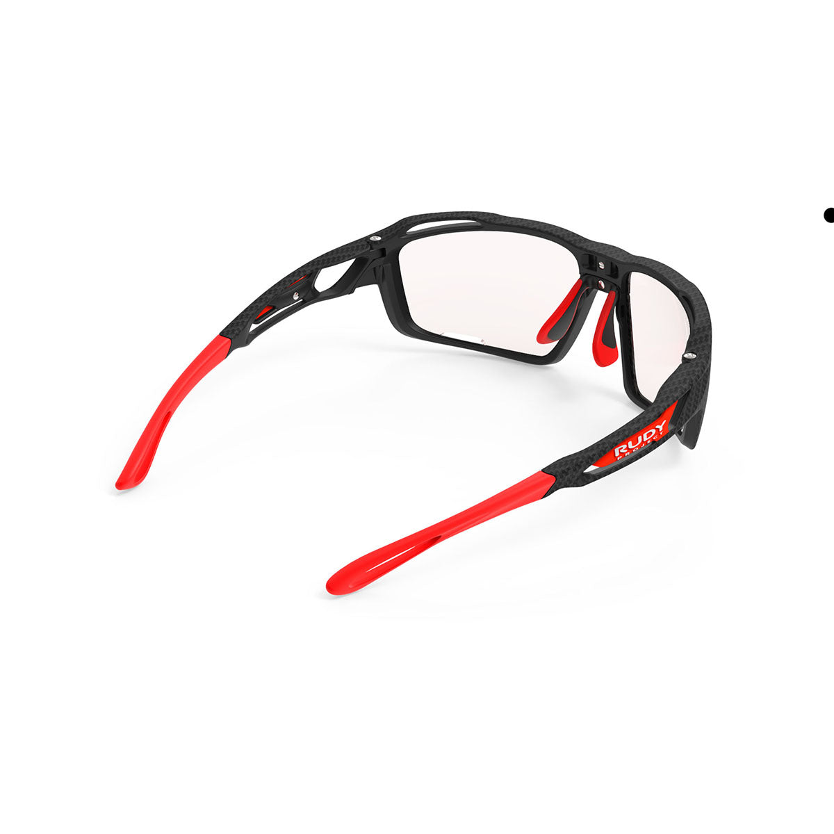 Rudy Project - Sintryx - frame color: Carbonium - lens color: ImpactX-2 Photochromic Clear to Red - Bumper Color:  - photo angle: Top Back Angle Variant Hover Image