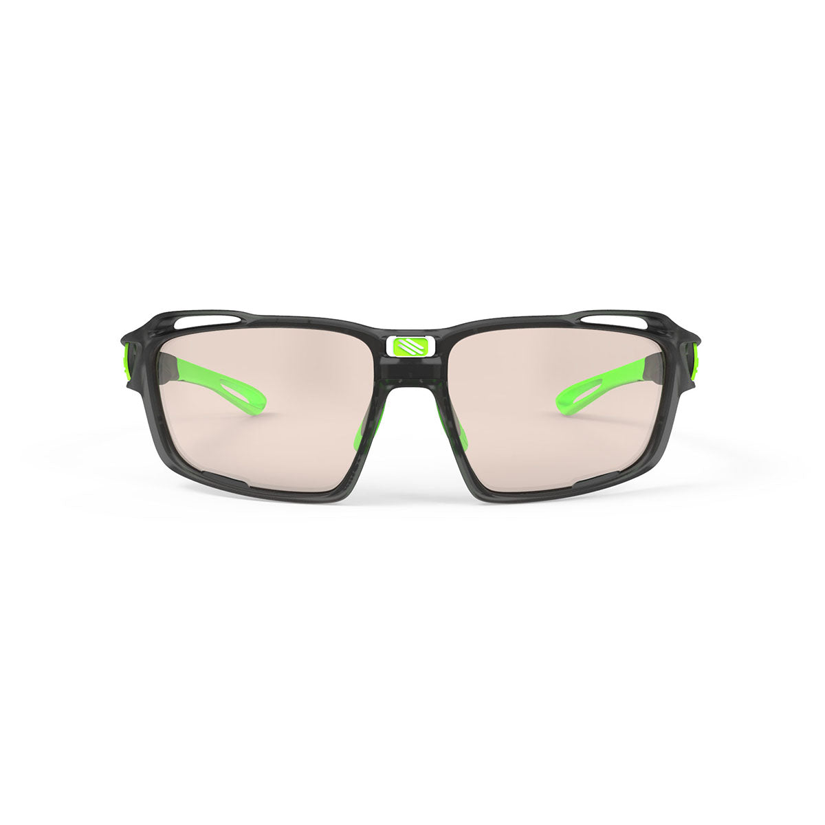 Rudy Project - Sintryx - frame color: Ice Graphite Matte - lens color: ImpactX-2 Photochromic Clear to Laser Brown - Bumper Color:  - photo angle: Front View Variant Hover Image