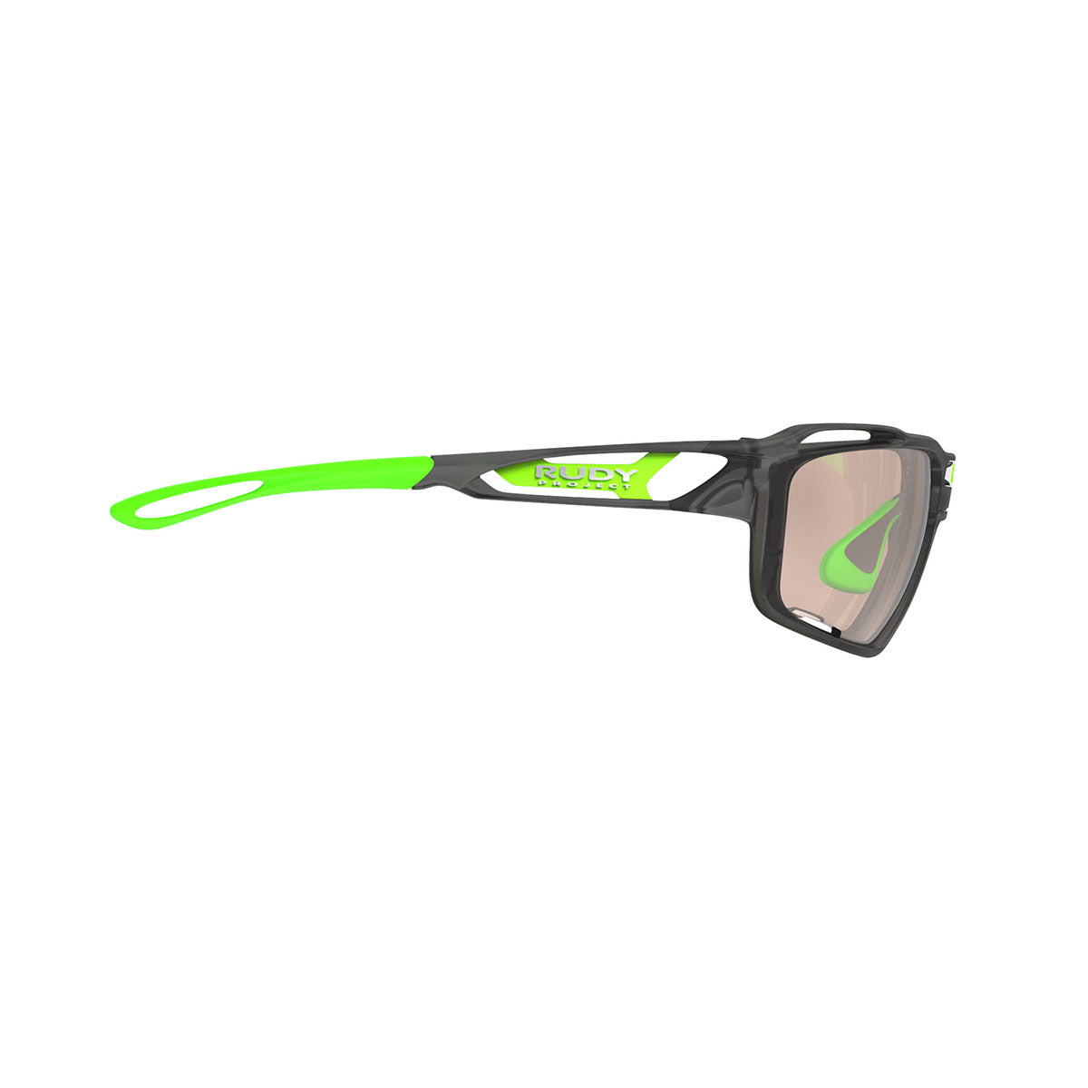 Rudy Project - Sintryx - frame color: Ice Graphite Matte - lens color: ImpactX-2 Photochromic Clear to Laser Brown - Bumper Color:  - photo angle: Side Variant Hover Image