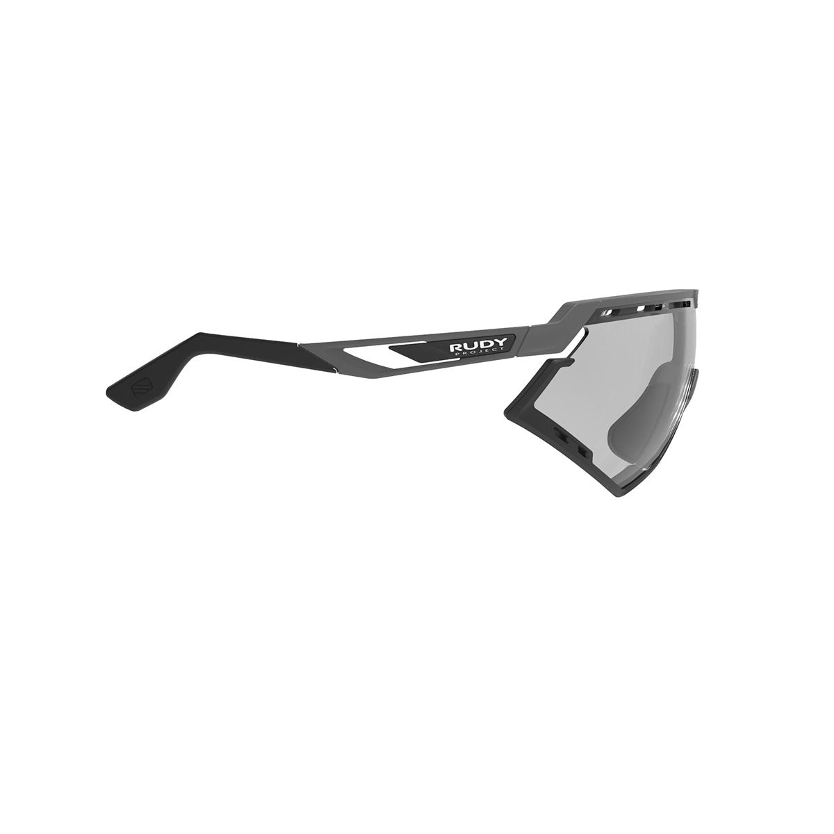 Rudy Project - Defender - frame color: Graphene - lens color: ImpactX-2 Photochromic clear to black - Bumper Color: Black - photo angle: Side Variant Hover Image