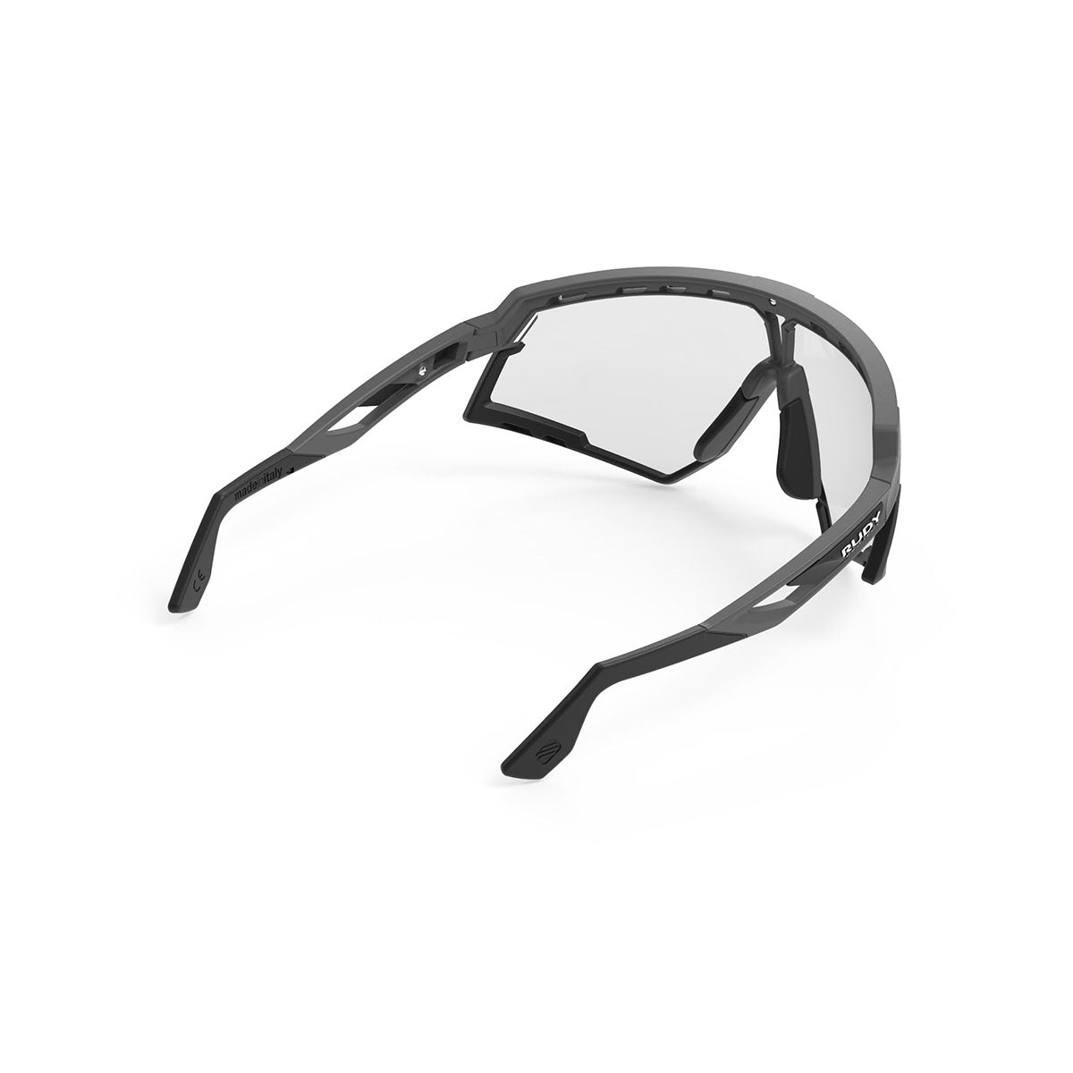 Rudy Project - Defender - frame color: Graphene - lens color: ImpactX-2 Photochromic clear to black - Bumper Color: Black - photo angle: Top Back Angle Variant Hover Image