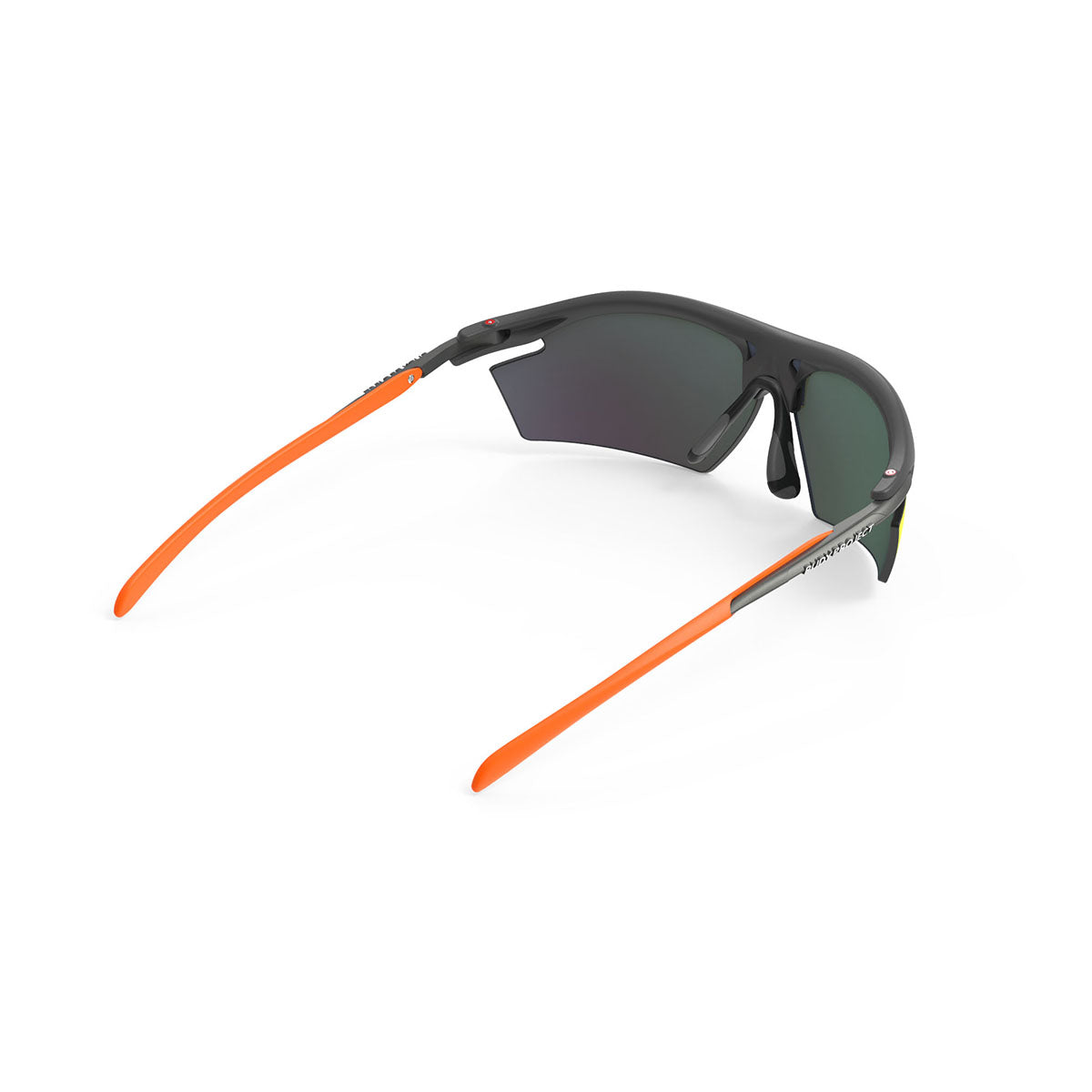Rudy Project - Rydon - frame color: Graphite Multicolor Orange - lens color: Multilaser Orange - photo angle: Top Back Angle Variant Hover Image
